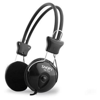 Snopy Sn-715 Snopy Sn-715 Siyah Mikrofonlu Kulaklık
