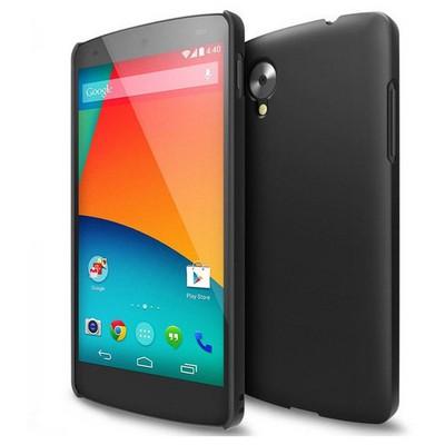 Microsonic Rubber Kılıf Lg Google Nexus 5 Siyah Cep Telefonu Kılıfı