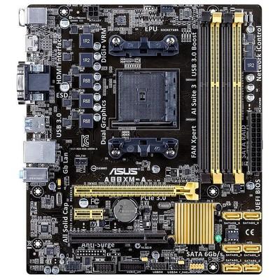 Asus A88XM-A DDR3 MATX GLAN SATA3 USB3 ANAKART Anakart
