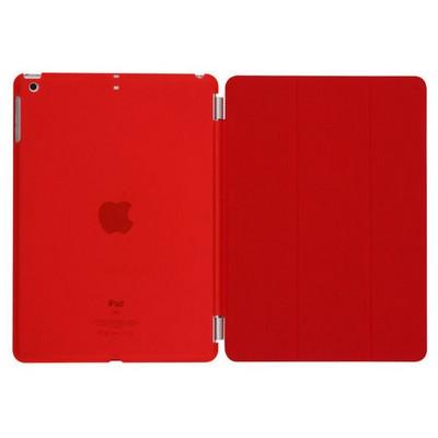 Microsonic Ipad 5 Air Smart Case Ve Arka Koruma Kılıf Kırmızı Tablet Kılıfı