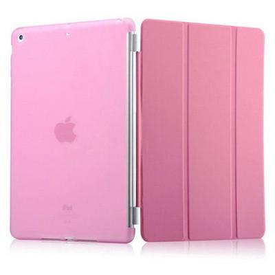 Microsonic Ipad 5 Air Smart Case Ve Arka Koruma Kılıf Pembe Tablet Kılıfı