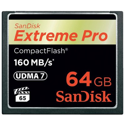 SanDisk SDCFXPS-064G-X46 Ext PRO 64GB FLASH MEMORY 160MB-S
