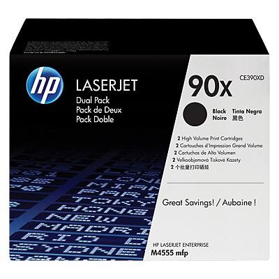 HP 90X CE390XD Toner - 2'li Paket