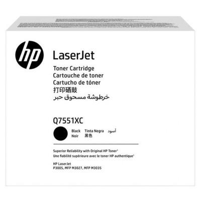 HP Q7551xc (51x) Siyah Taahhütlü Yüksek Kapasiteli  13.000 Sayfa Toner