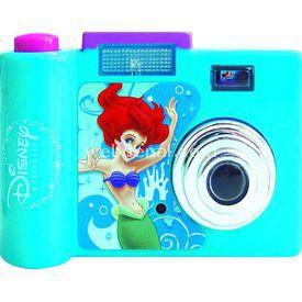 Necotoys Disney Prenses Ariel Sesli Fotoğraf Makinesi Minik Hediyelikler