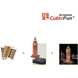 Cubic Fun 3d 28 Parça  Big Ben Puzzle