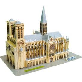 Cubic Fun 3d 74 Parça Notre Dame De Paris Puzzle
