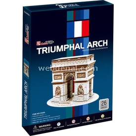 Cubic Fun 3d 26 Parça  Triumphal Arch Puzzle