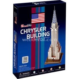 Cubic Fun 3d 70 Parça  Chrysler Binası - Abd Puzzle