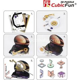 Cubic Fun 3d 71 Parça  Voyager Space Probe Puzzle