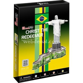 Cubic Fun 3d 22 Parça  Christ The Redeemer Puzzle