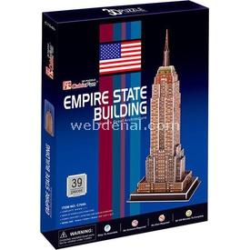 Cubic Fun 3d 39 Parça  Empire State Binası - Abd Puzzle