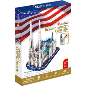 Cubic Fun 3d 117 Parça  Saint Patrick's Cathedral Puzzle