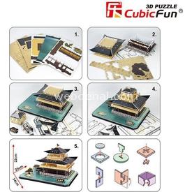 Cubic Fun 3d 56 Parça  Kinkakuji Puzzle