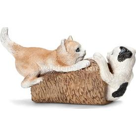 Schleich Oyun Oynayan Yavru Kediler Figür 7 Cm Figür Oyuncaklar