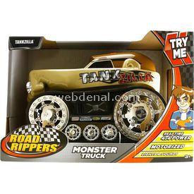 Road Rippers Rippers Monster Truck Tankzill Sesli Ve Işıklı 4x4 Kamyonet Arabalar