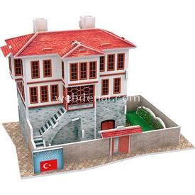 Cubic Fun 3d 18 Parça  Turkish Folk House 2 Puzzle