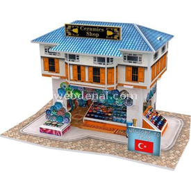 Cubic Fun 3d 25 Parça  Turkish Ceramics Shop Puzzle
