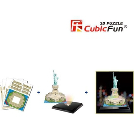 Cubic Fun 3d 37 Parça  Özgürlük Anıtı - Abd Puzzle