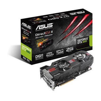Asus GeForce GTX 680 2G DirectCU2 Ekran Kartı