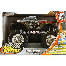 Road Rippers Monster Truck Rammuni Sesli Ve Işıklı 4x4 Kamyonet Arabalar