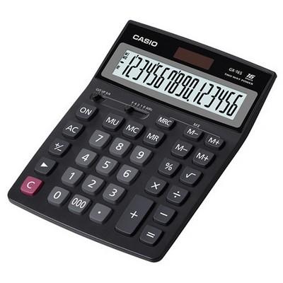 Casio Gx-16s 16 Hane Masaüstü Hesap Makinesi
