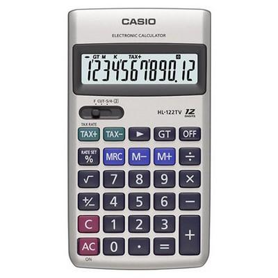Casio Hl-122tv 12 Hane Cep Hesap Makinesi