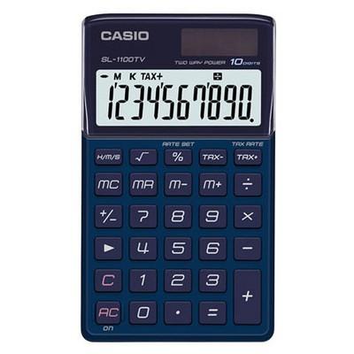 Casio Sl-1110tv-bu Cep Tipi Hesap Makinesi