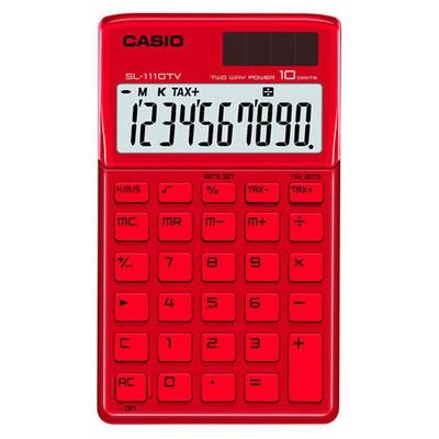 Casio Sl-1110tv-rd Cep Tipi Hesap Makinesi