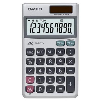 Casio Sl-315tv 10 Hane Cep Hesap Makinesi
