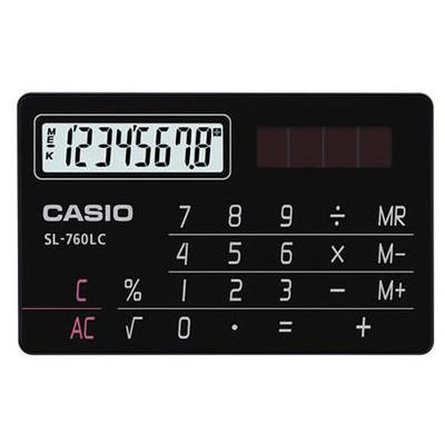 Casio Sl-760lc-bk 8 Hane Cep Hesap Makinesi