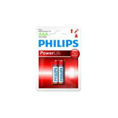 Philips Lr03p2b-97 Aaa 2li Ince Alkaline 0 Pil / Şarj Cihazı