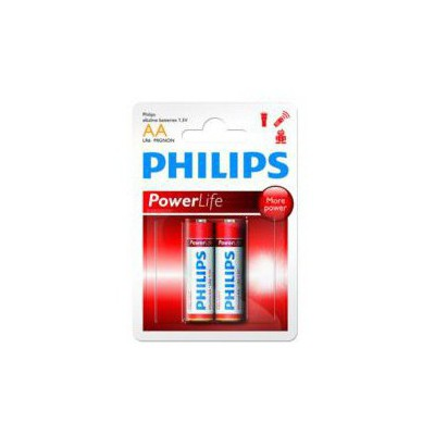 Philips Lr6p2b-97 Alkalin Kalem Aa 2'li Pil Pil / Şarj Cihazı