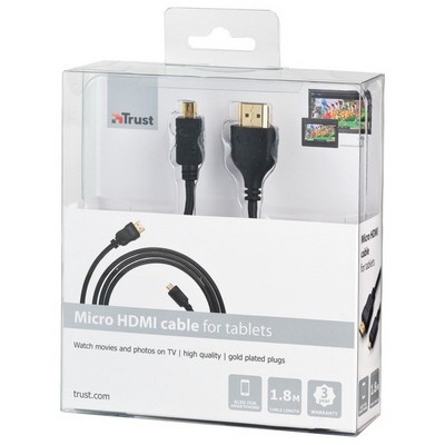 Trust 18710 Micro 1,8m HDMI Kablolar
