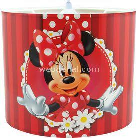 YKC Minnie Mouse Taban Görselli Tavan Sarkıtı Lamba & Abajur