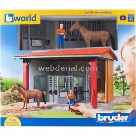 Bruder At Barınağı, Bayan Binici, At Ve Aksesuarları Erkek Çocuk Oyuncakları