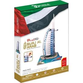 Cubic Fun 3d 101 Parça  Burj Al Arab Puzzle