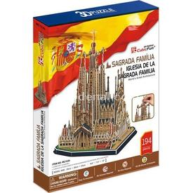 Cubic Fun 3d 194 Parça  Iglesia De La Sagrada Familia Puzzle