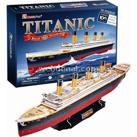 Cubic Fun 3d 113 Parça  Titanic Gemisi Puzzle