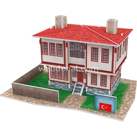 Cubic Fun 3d 26 Parça  Turkish Folk House 1 Puzzle