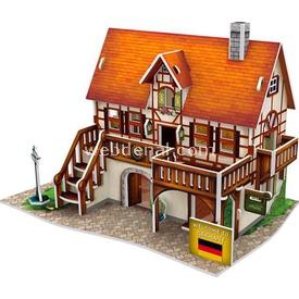 Cubic Fun 3d 39 Parça  German Art Studio Puzzle