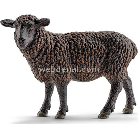 Schleich Kara Koyun Figür 10 Cm Figür Oyuncaklar