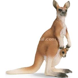 Schleich Kanguru Figür 10 Cm Figür Oyuncaklar