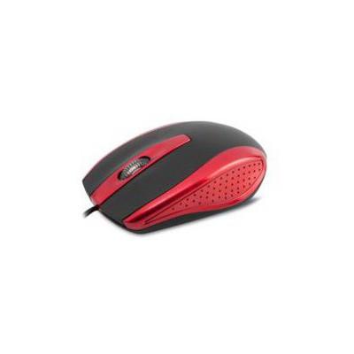Everest SM-580U Kablolu Mouse - Siyah/Kırmızı