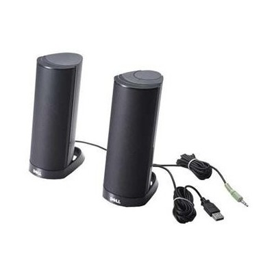 Dell External Ax210cr Black Usb (kit) Speaker