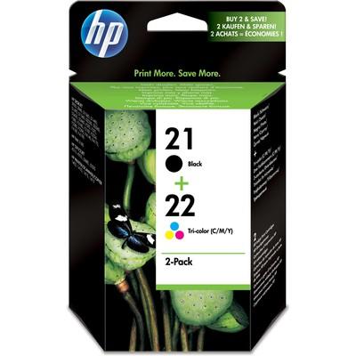 HP 21+22 Siyah/CMY Kartuş SD367A