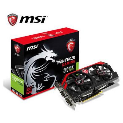 MSI GeForce GTX 750Ti 2G OC TF Gaming Ekran Kartı