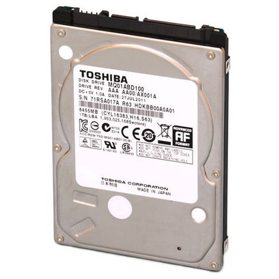 Toshiba 500GB Notebook Hard Disk - MQ01ABF050