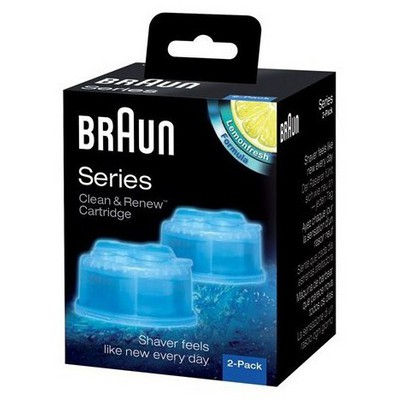 Braun Clean&Charge 2'li Yedek Temizleme Sıvısı - CCR2