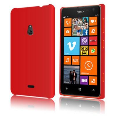 Microsonic Premium Slim Kılıf Nokia Lumia 1320 Kırmızı Cep Telefonu Kılıfı